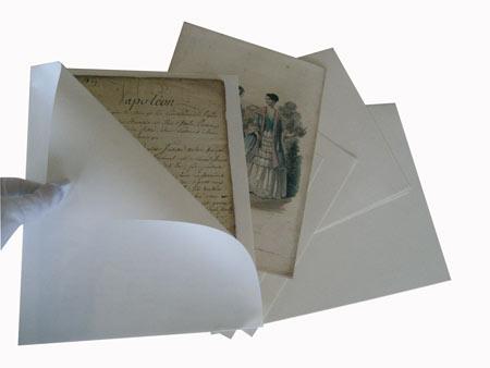 Бумажная папка-уголок