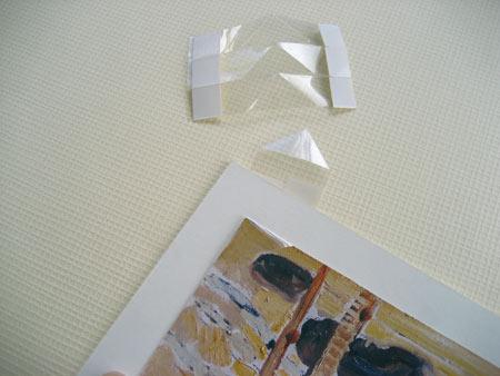Полоски из прозрачной полиэфирной плёнки Mylar