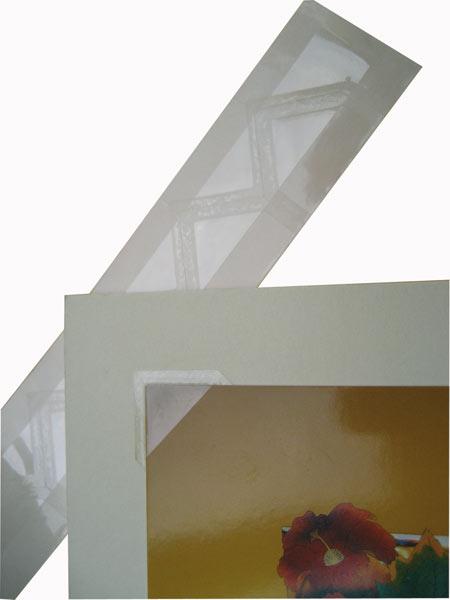 Прозрачные уголки из полиэфирной плёнки Mylar